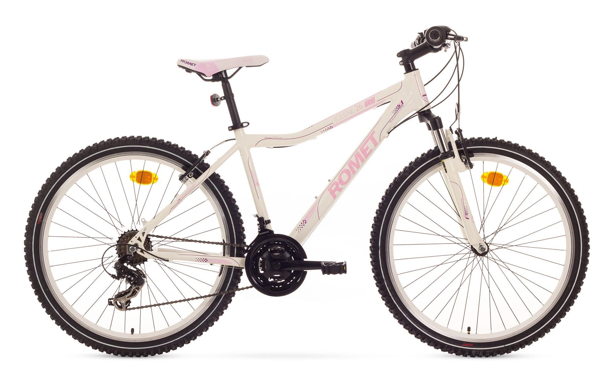 Bicicleta MTB Romet Jolene 26 1.0 - alb