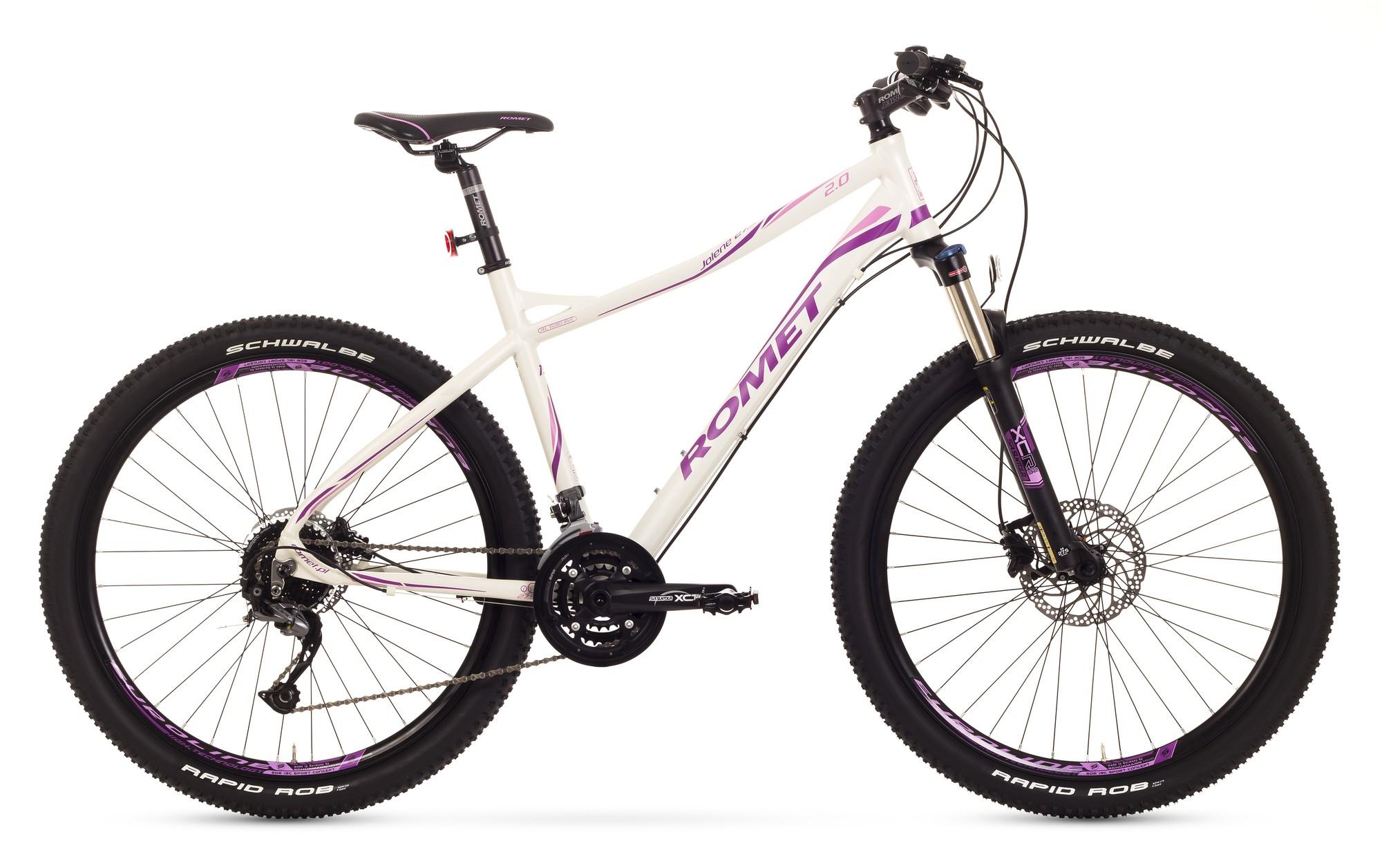 Bicicleta MTB Romet Jolene 27.5 2.0 - alb-roz