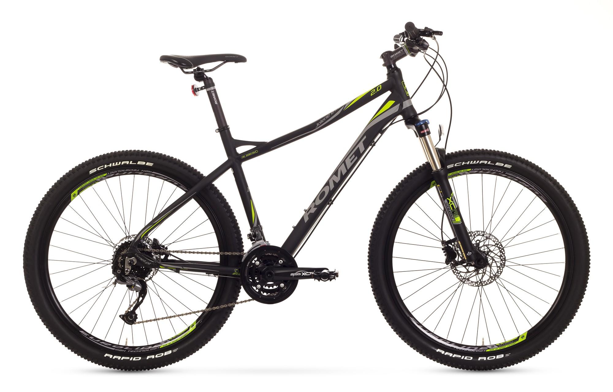 Bicicleta MTB Romet Jolene 27.5 2.0 - negru-verde