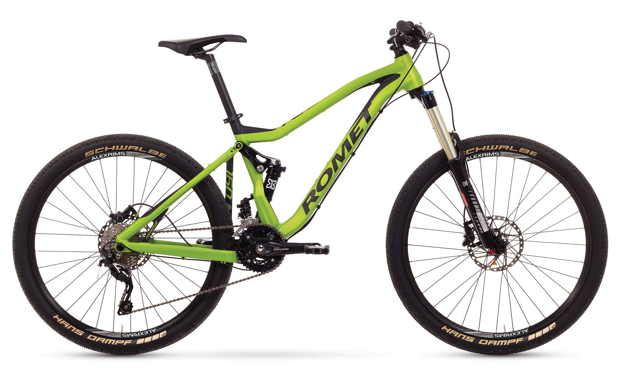 Bicicleta MTB Romet Tool 27.5 1.0 - verde