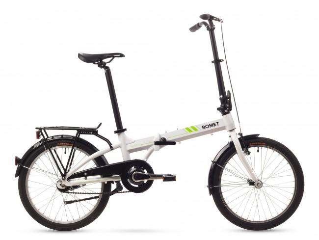 Bicicleta pliabila Romet WIGRY 2 - 2016 Alb