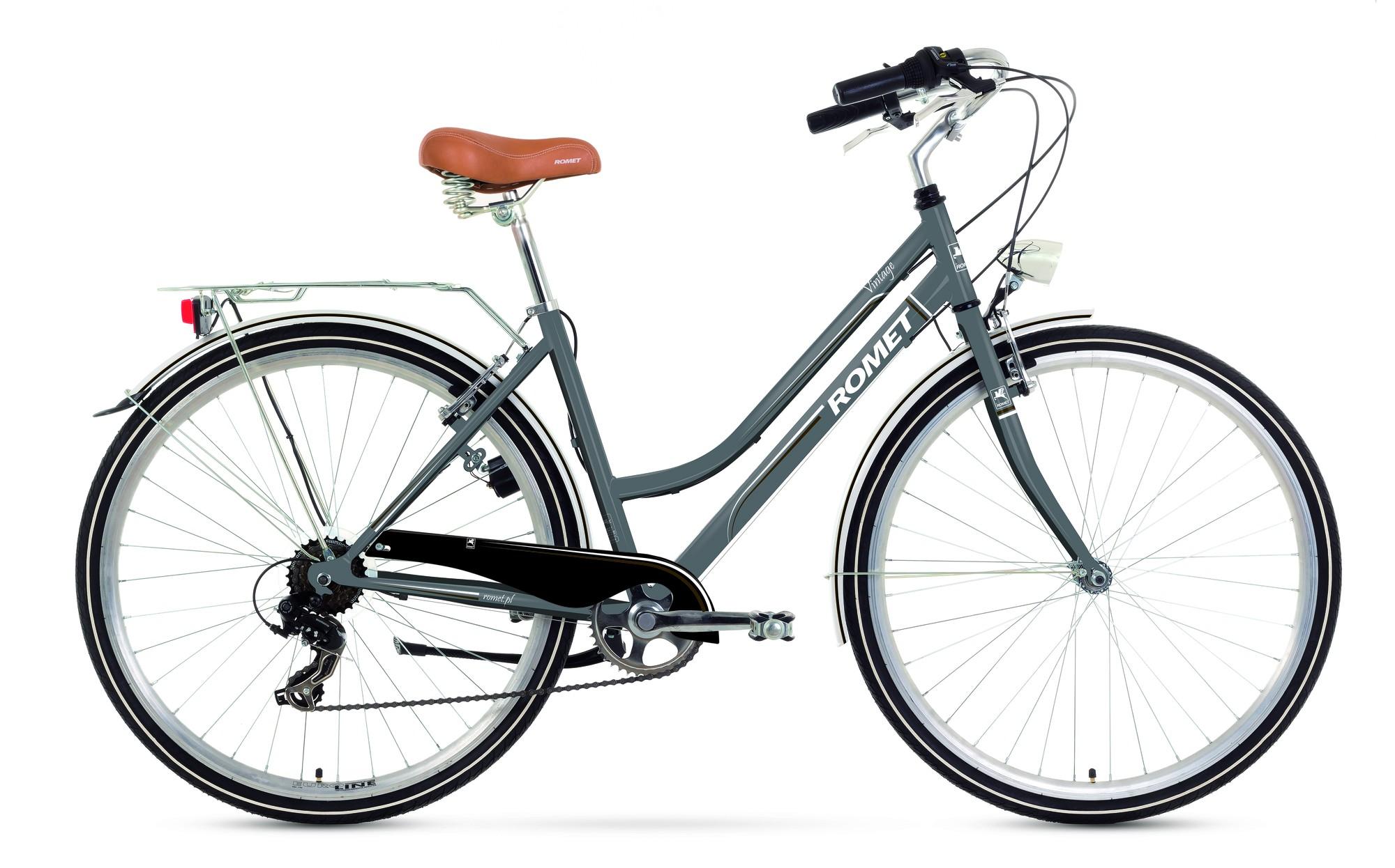 Bicicleta de oras Romet Vintage D - grafit