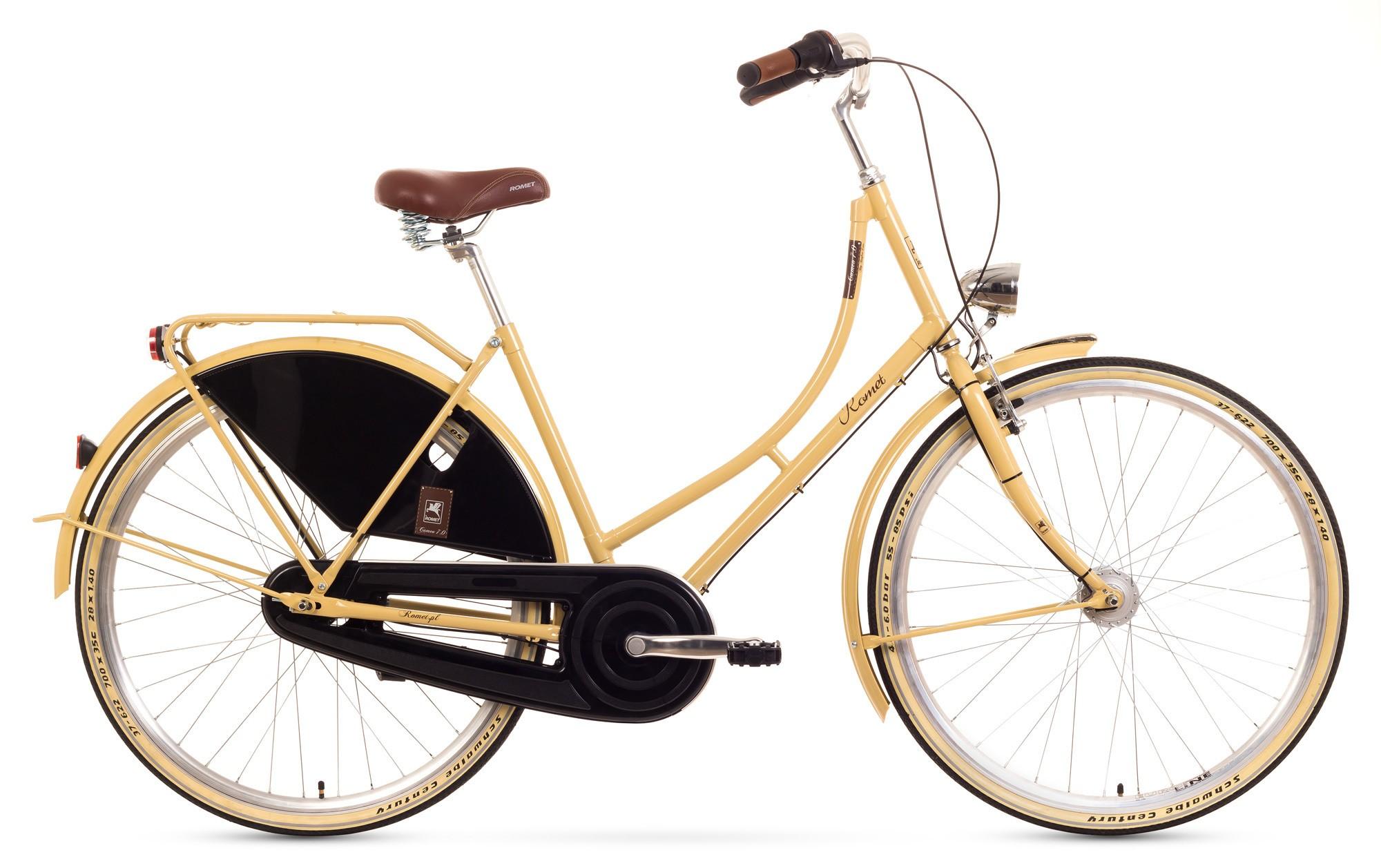 Bicicleta de oras Romet Cameo 7 - crem