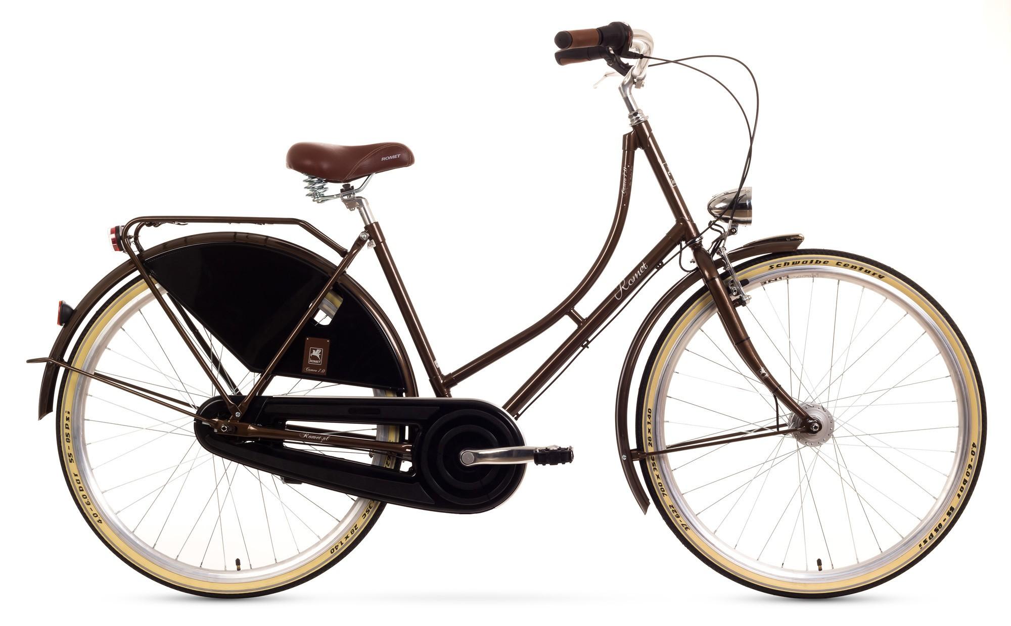 Bicicleta de oras Romet Cameo 7 - chocolate
