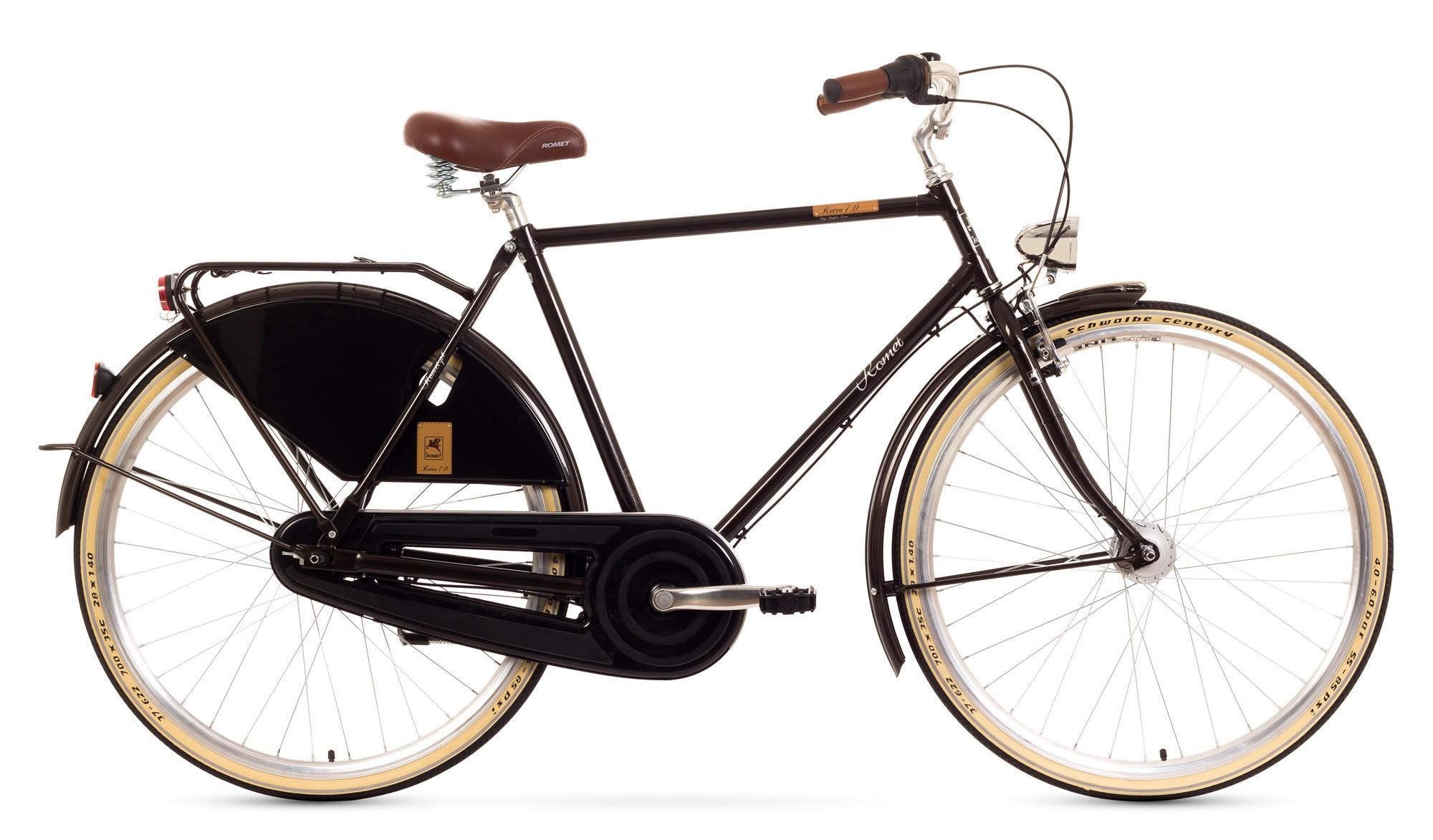 Bicicleta de oras Romet Retro 7 - maro