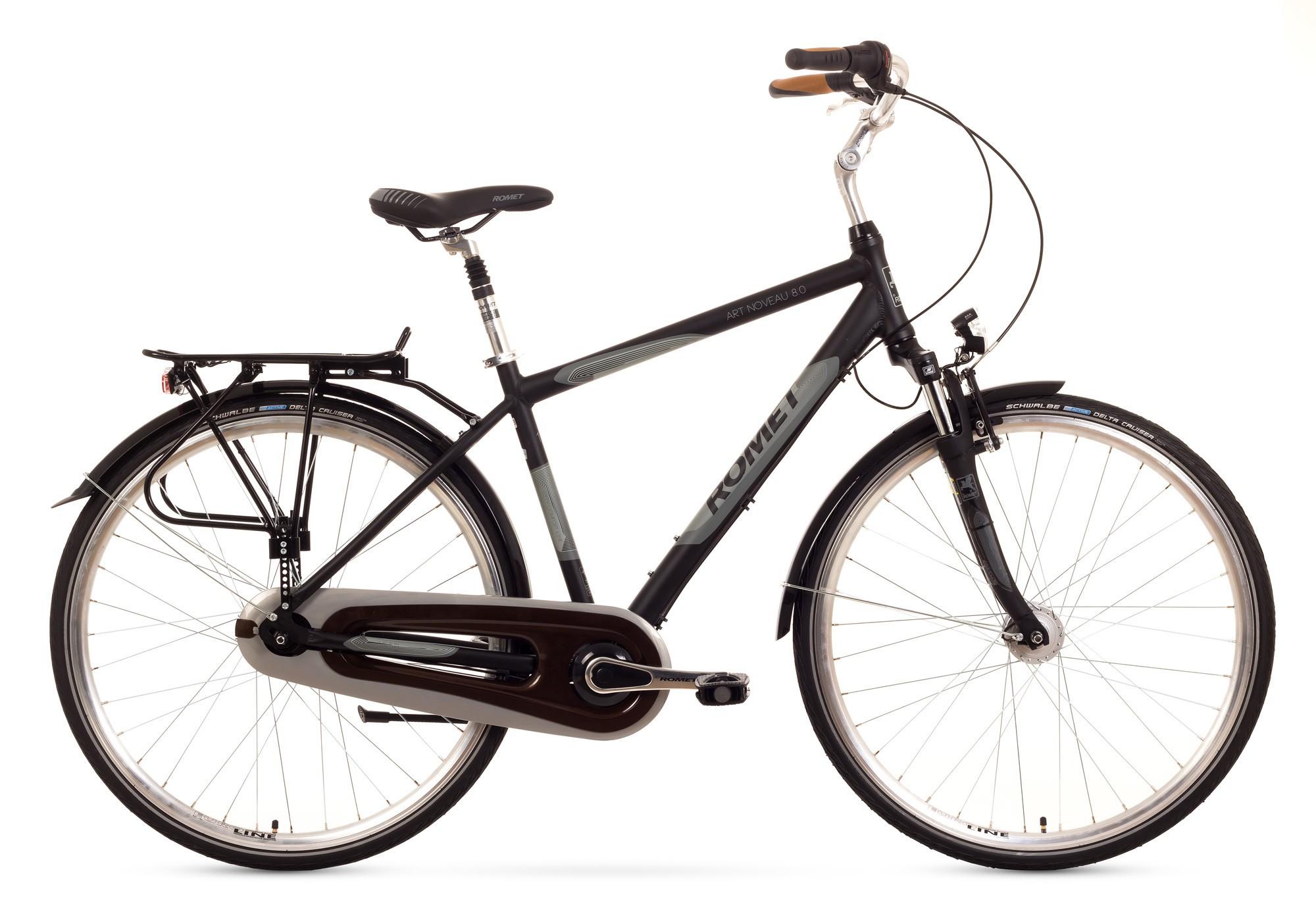 Bicicleta de oras Romet Art Noveau 8 - negru-gri