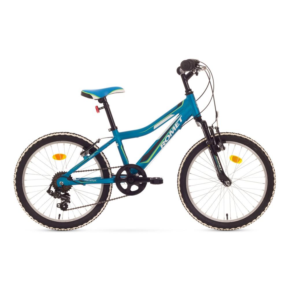 Bicicleta de copii Romet Rambler Kid 20 - albastru