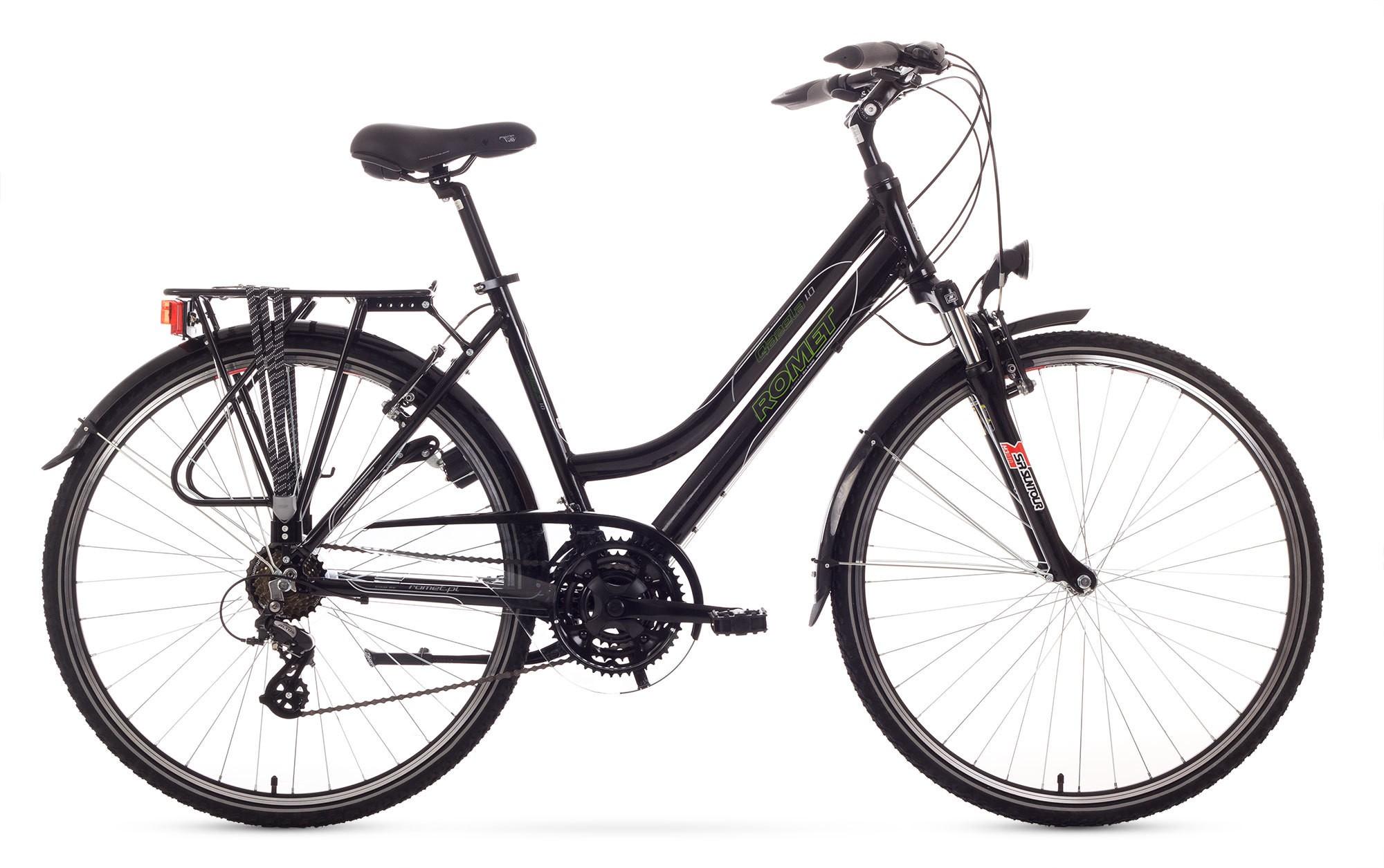 Bicicleta Trekking Romet Gazela 1.0 - negru