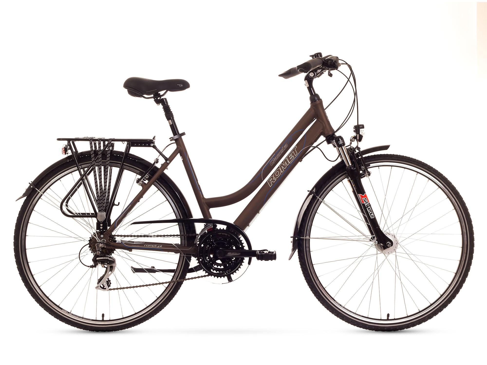 Bicicleta Trekking Romet Gazela 2.0 - maro