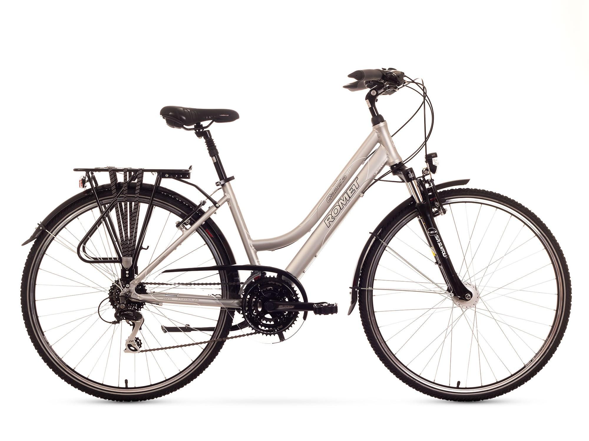 Bicicleta Trekking Romet Gazela 3.0 - grafit