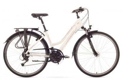 Bicicleta Trekking Romet Gazela 4.0 - alb