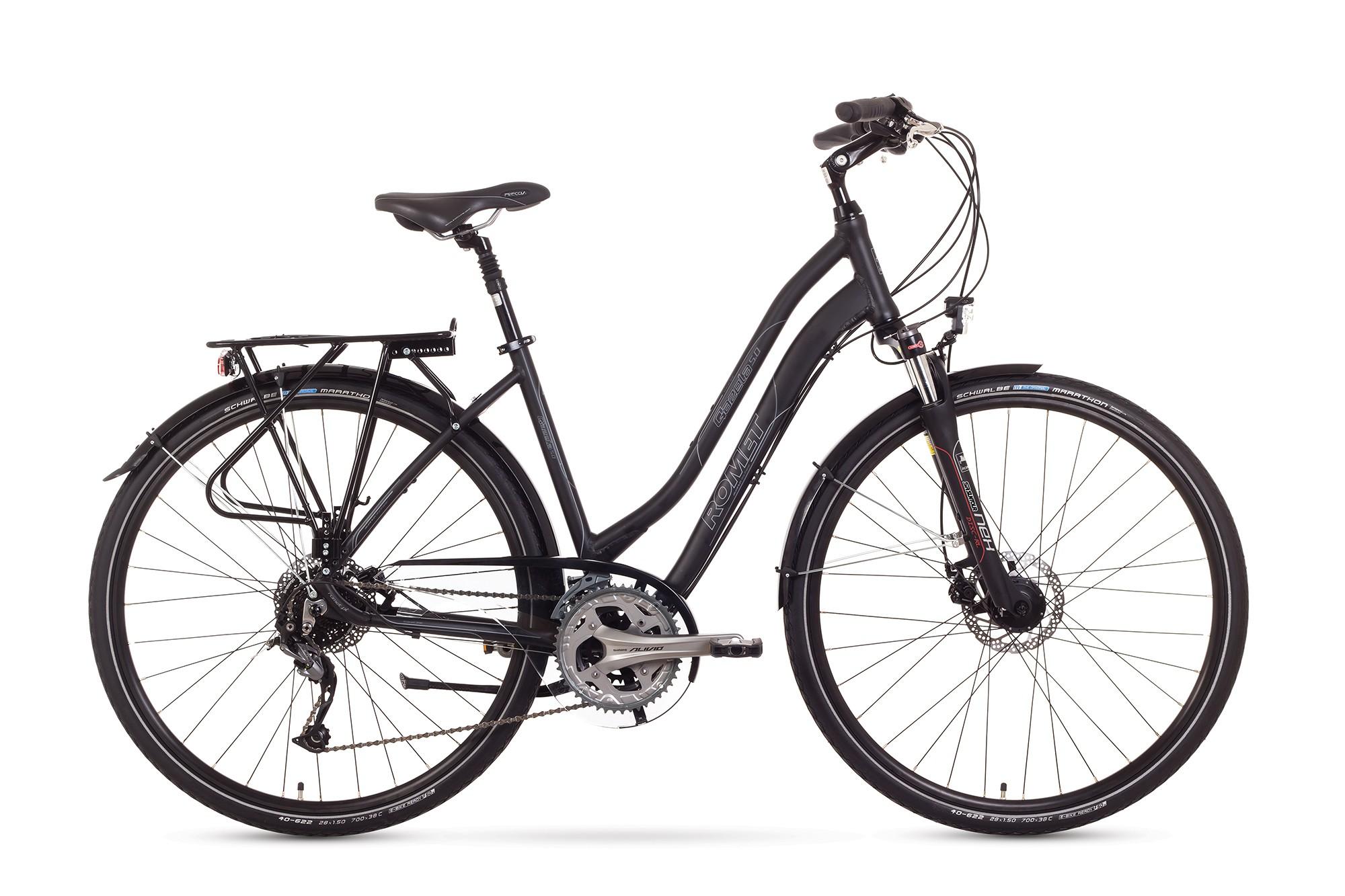 Bicicleta Trekking Romet Gazela 5.0 - negru