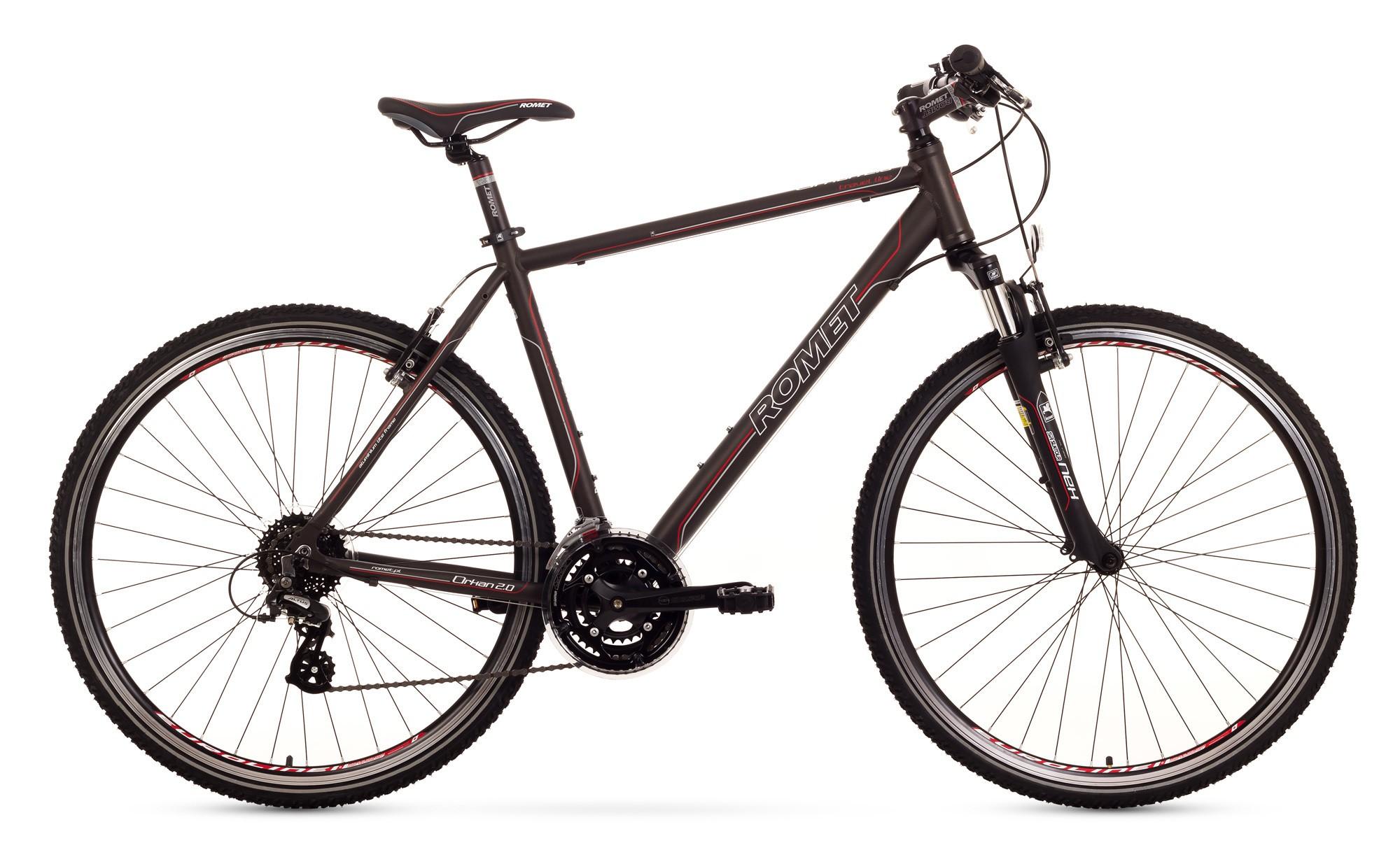 Bicicleat Trekking Romet Orkan 2.0 M - maro
