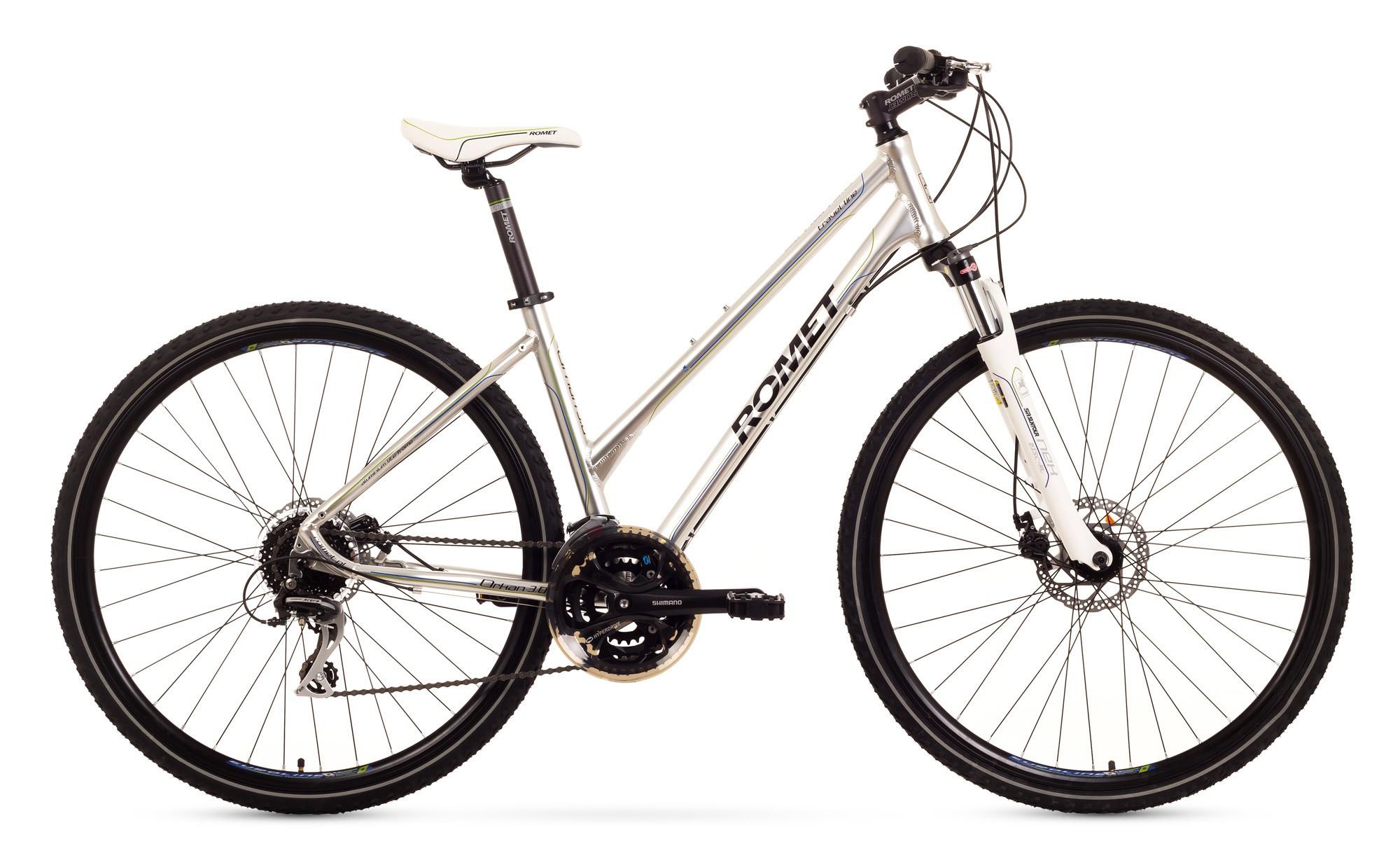 Bicicleta Trekking Romet Orkan 3.0 D - gri