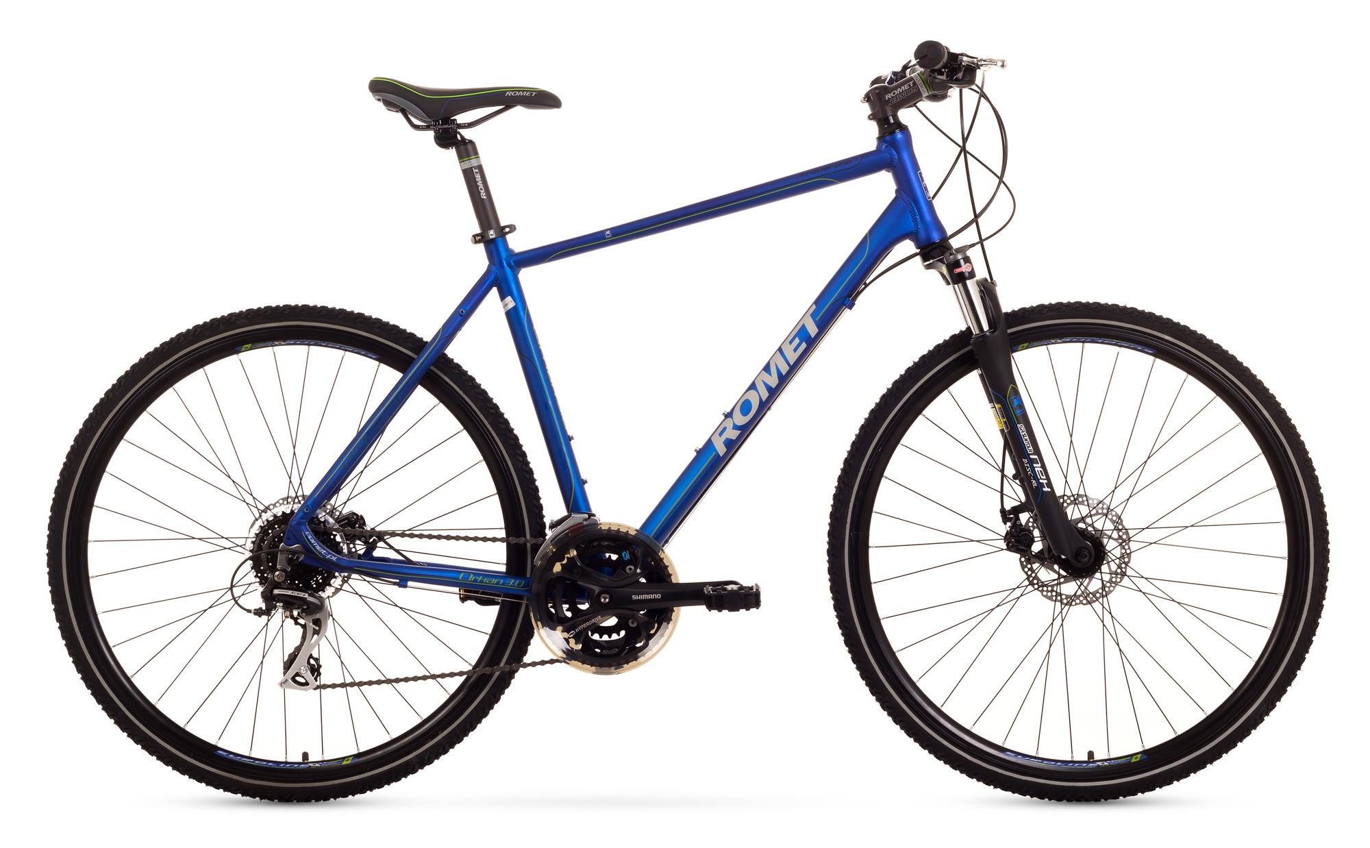 Bicicleta Trekking Romet Orkan 3.0 M - albastru