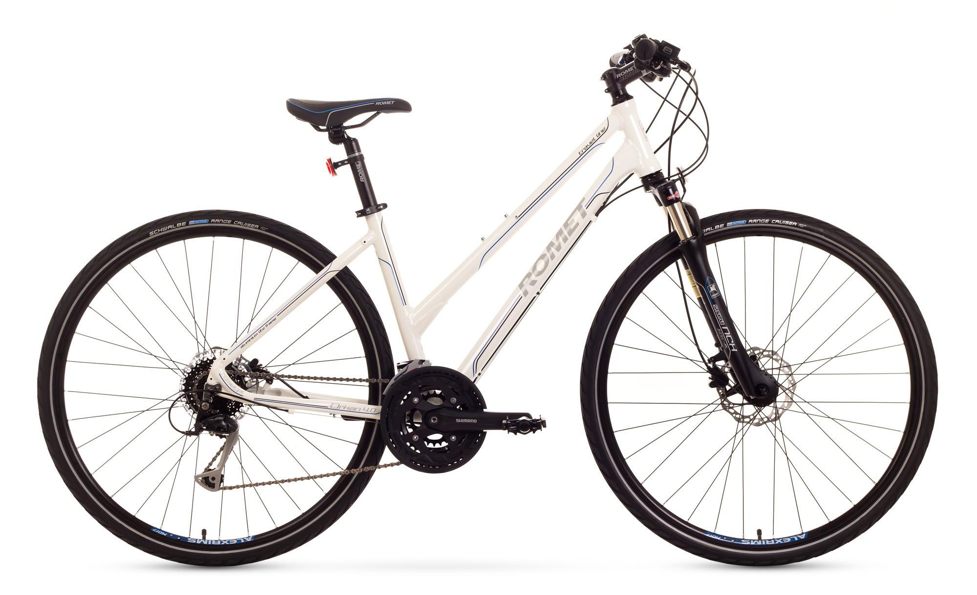Bicicleta Trekking Romet Orkan 4.0 D - alb