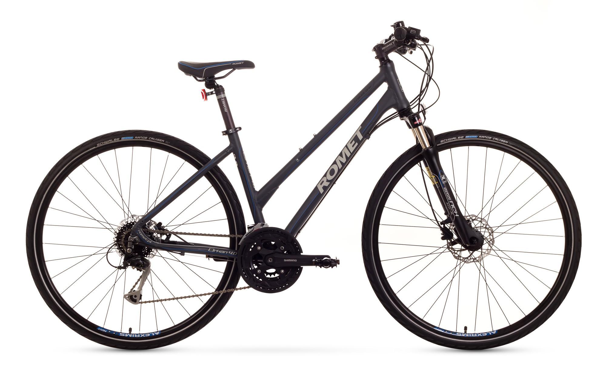Bicicleta Trekking Romet Orkan 4.0 D - gri