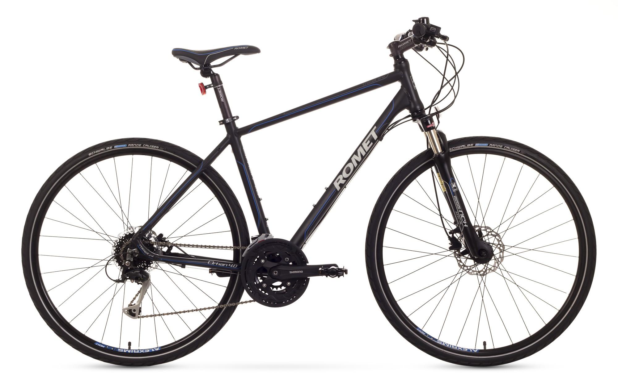 Bicicleta Trekking Romet Orkan 4.0 M - negru