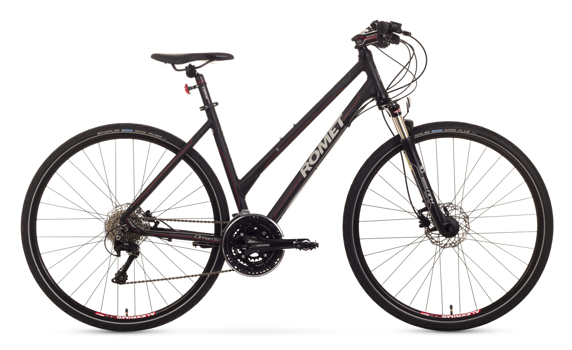 Bicicleta Trekking ROMET Orkan 5.0 D - negru