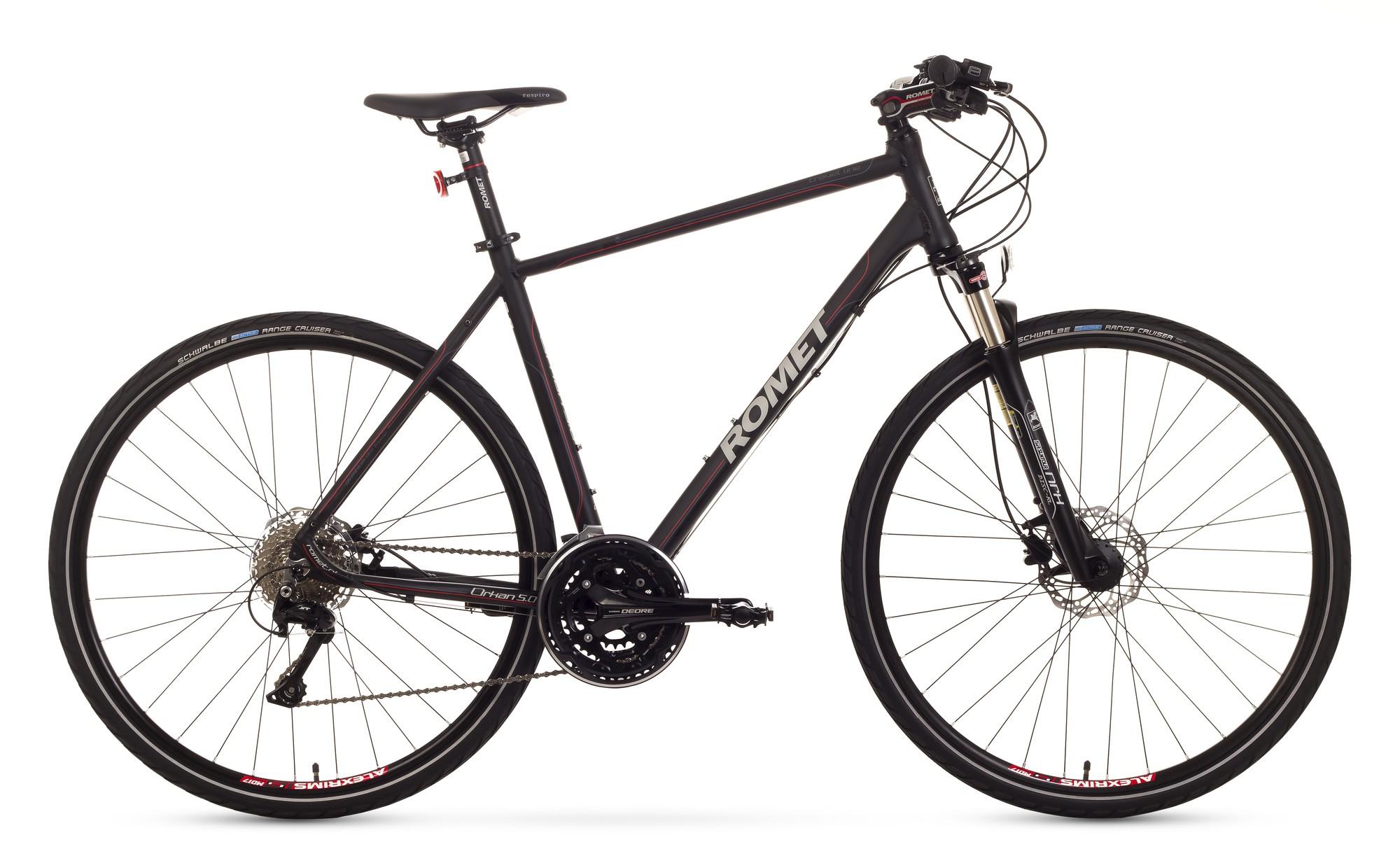 Bicicleta Trekking Romet Orkan 5.0 M - negru
