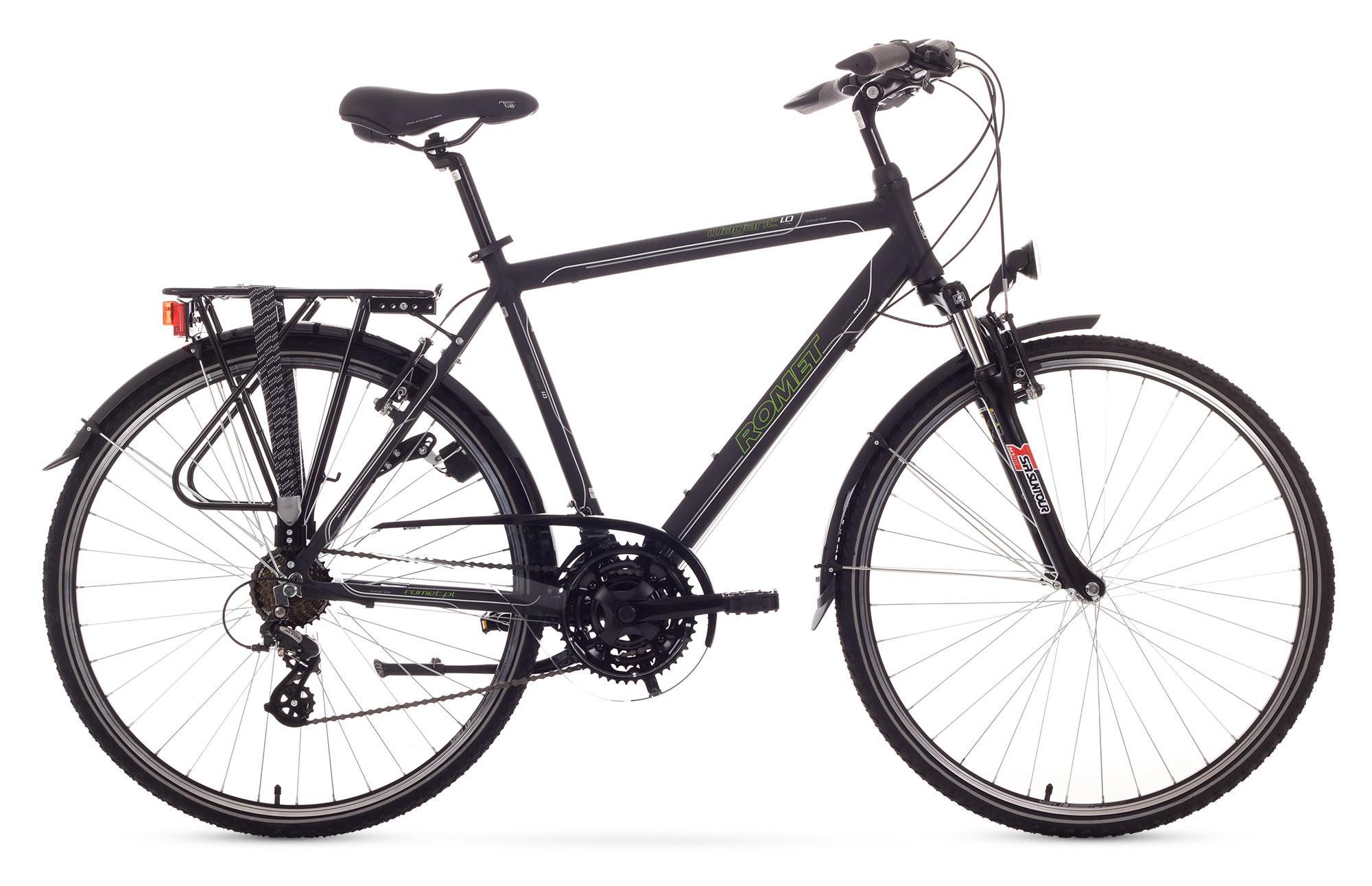 Bicicleta Trekking Romet Wagant 1.0 - negru