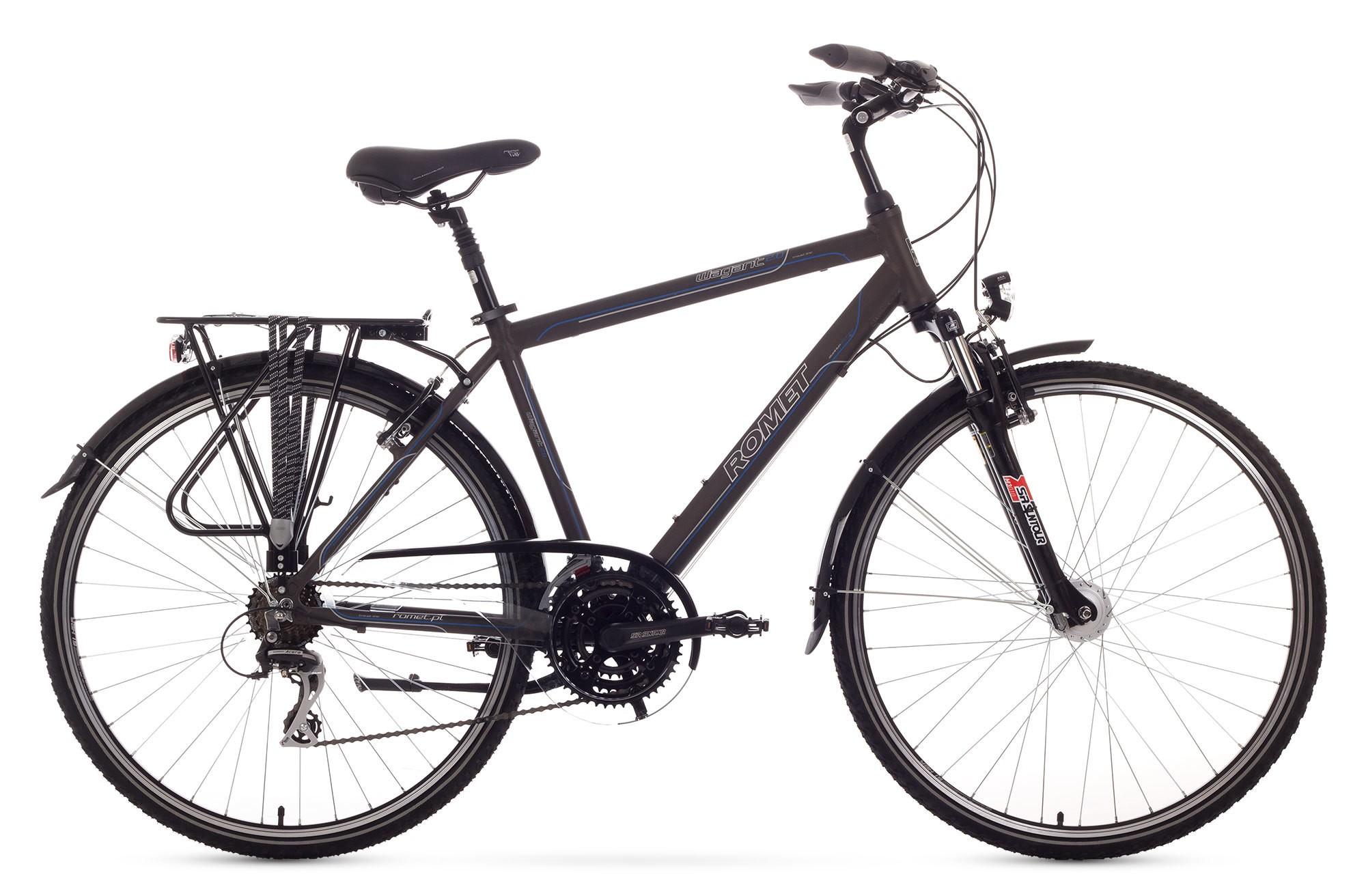 Bicicleta Trekking Romet Wagant 2.0 - grafit
