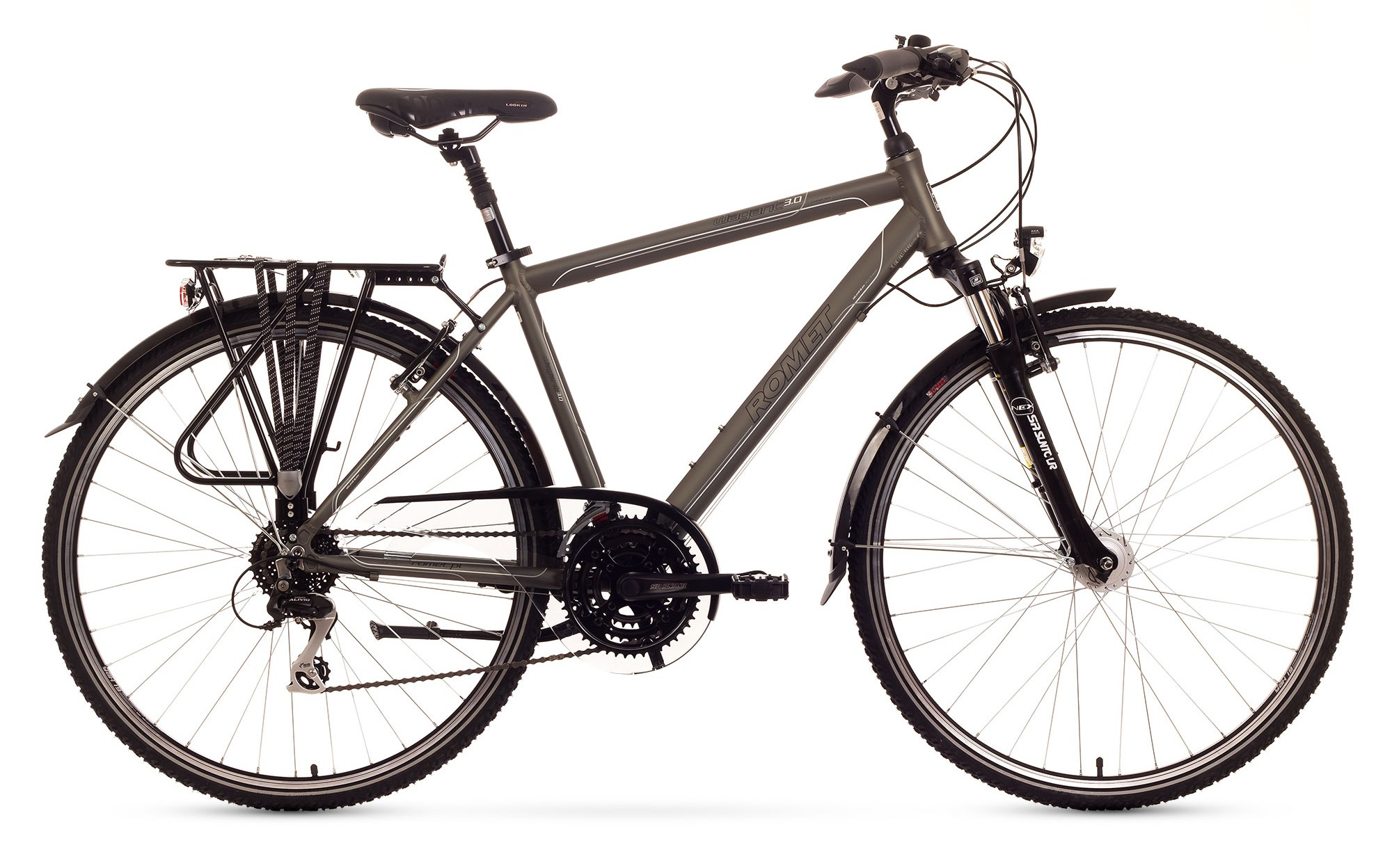 Bicicleta Trekking Romet Wagant 3.0 - grafit