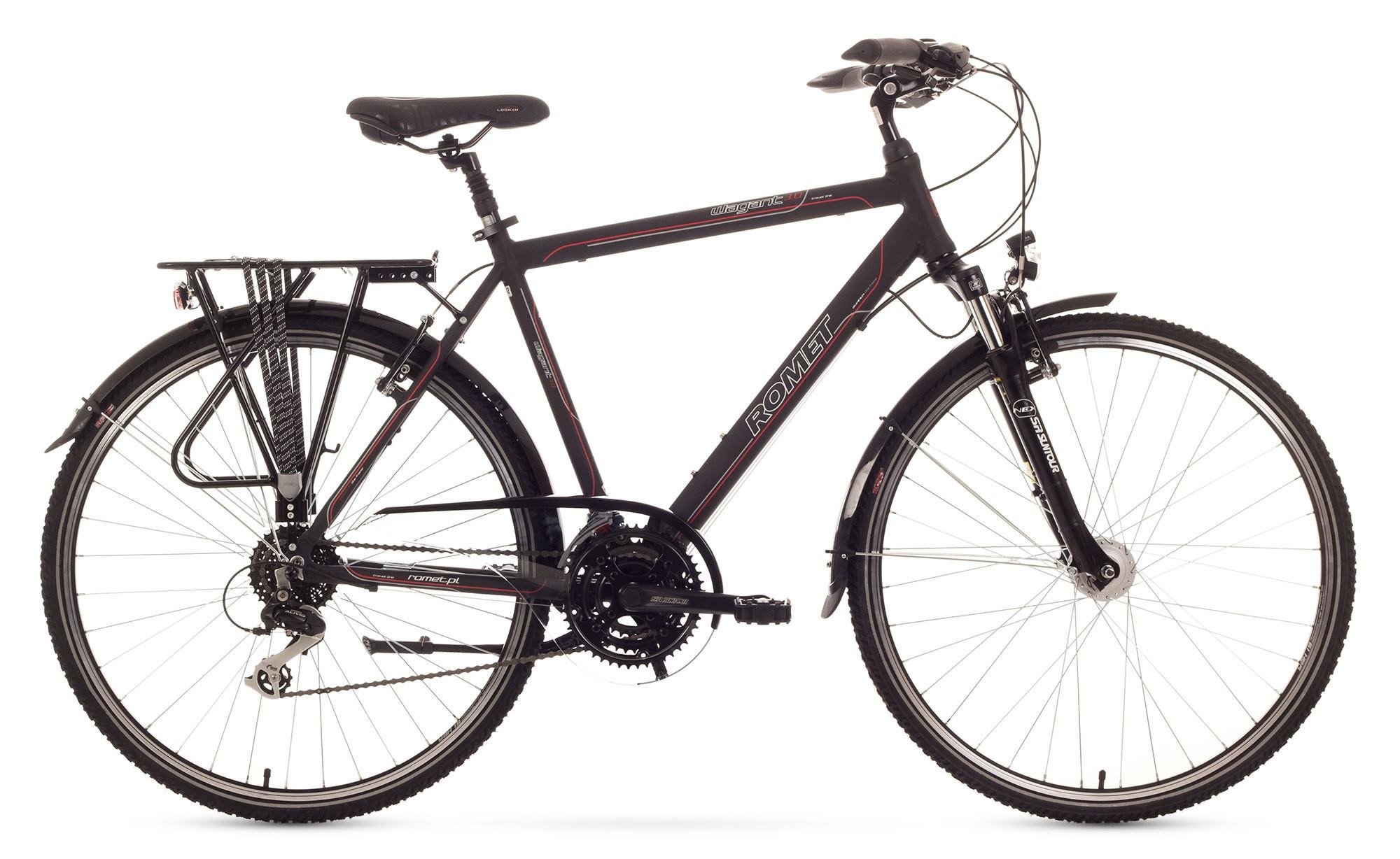 Bicicleta Trekking Romet Wagant 3.0 - negru