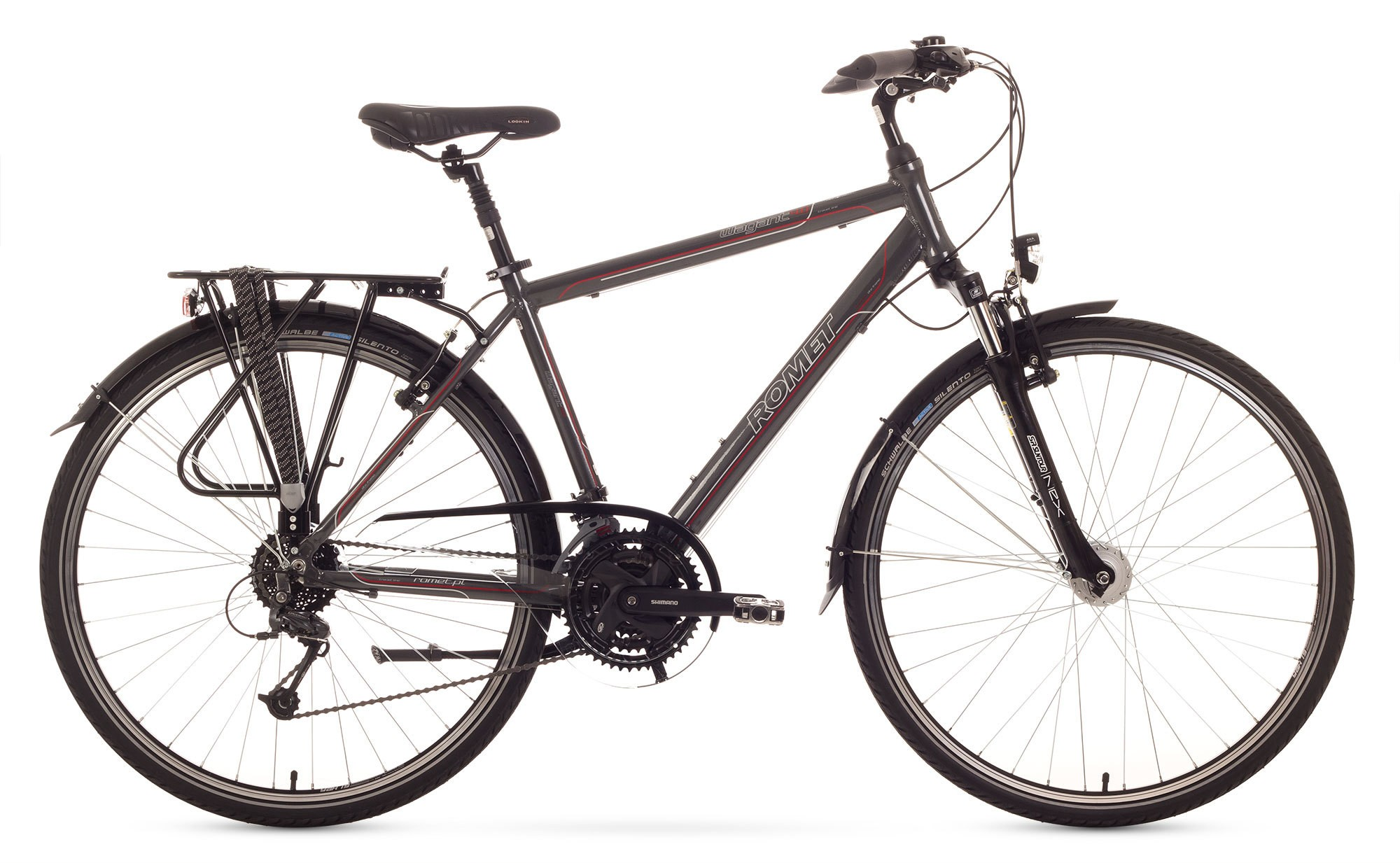 Bicicleta Trekking Romet Wagant 4.0 - grafit