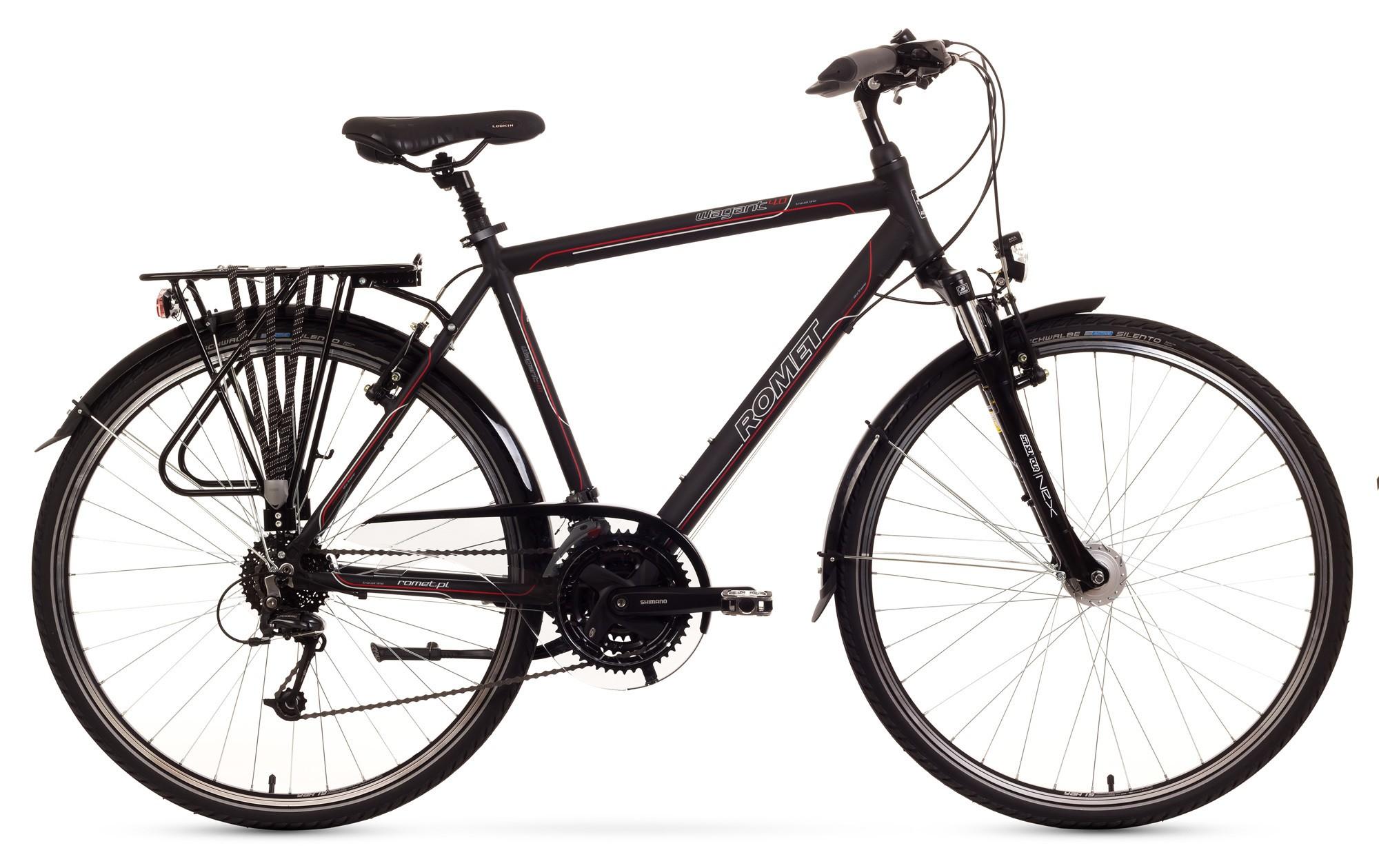 Bicicleta Trekking Romet Wagant 4.0 - negru