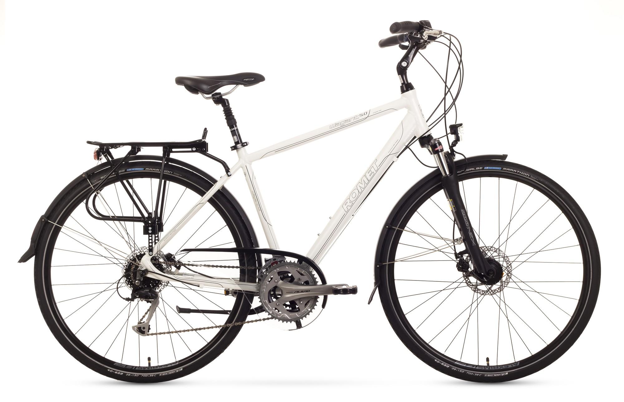 Bicicleta Trekking Romet Wagant 5.0 - alb
