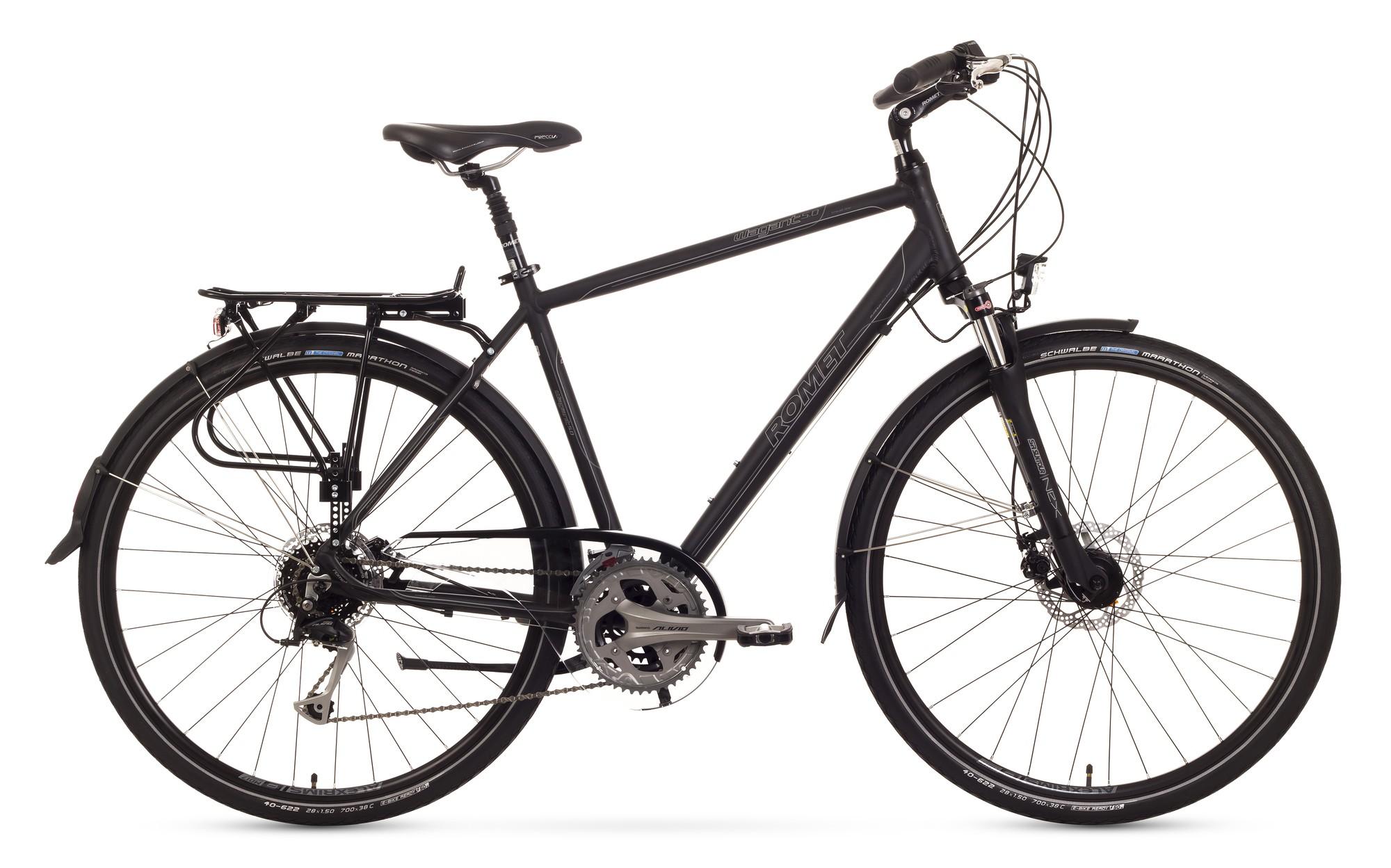 Bicicleta Trekking Romet Wagant 5.0 - negru
