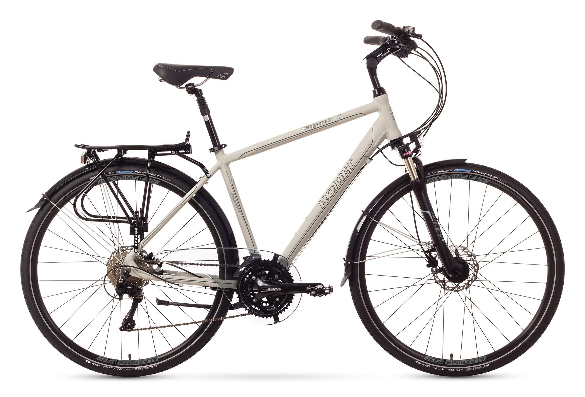 Bicicleta Trekking Romet Wagant 6.0 - alb