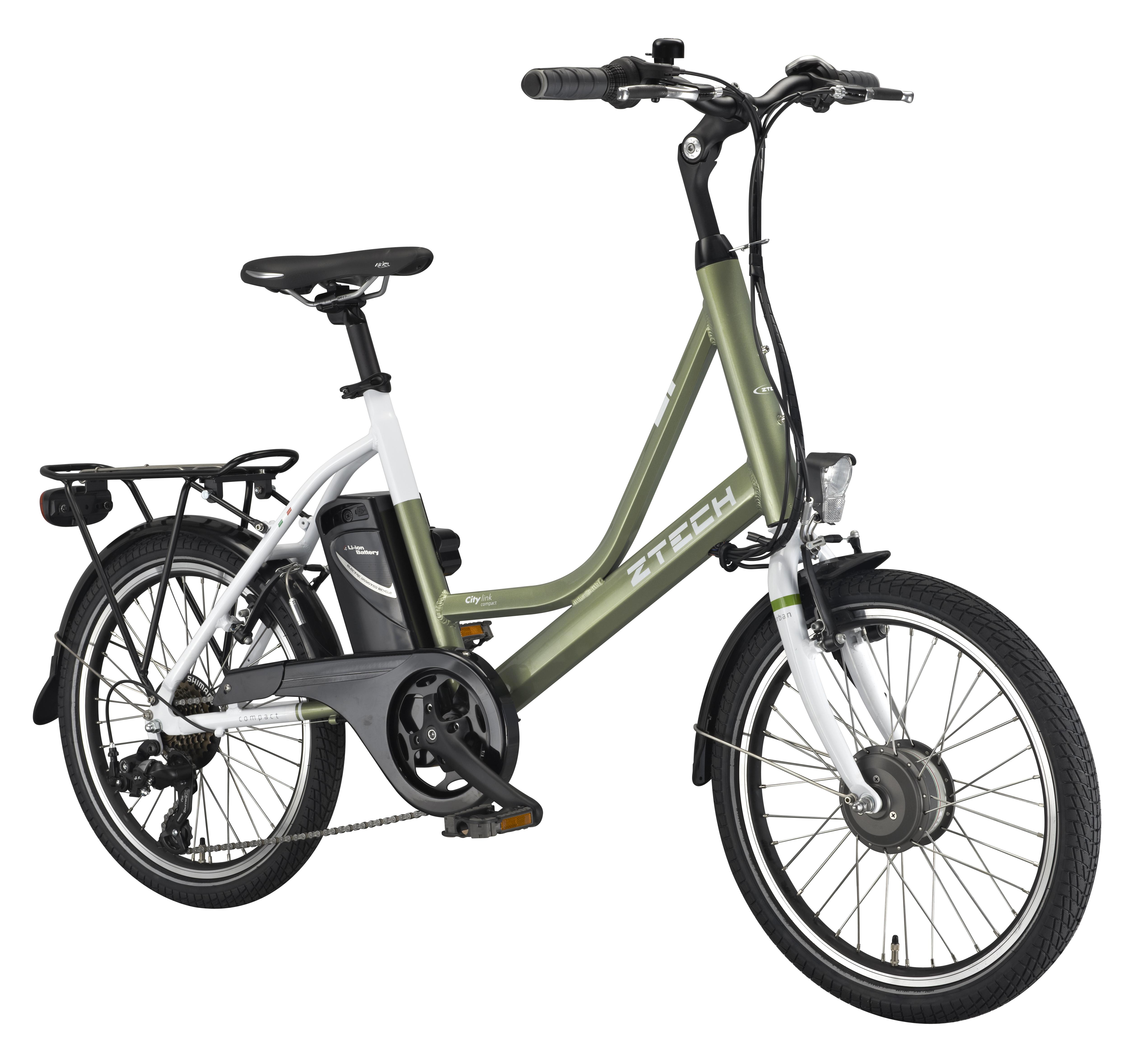 Bicicleta electrica pliabila Ztech ZT-73 Compact
