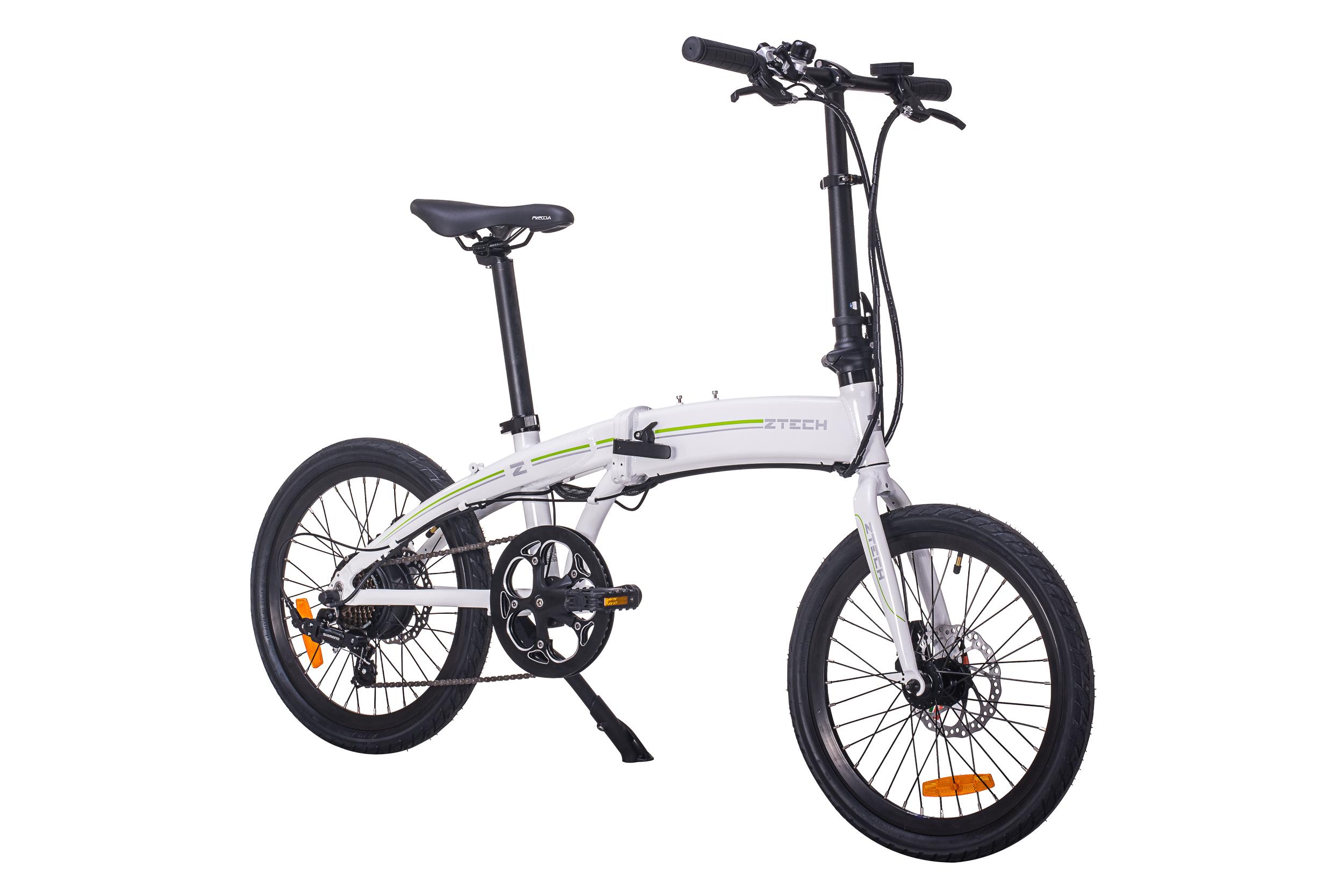 Bicicleta electrica pliabila Ztech ZT-74 Folding Litium