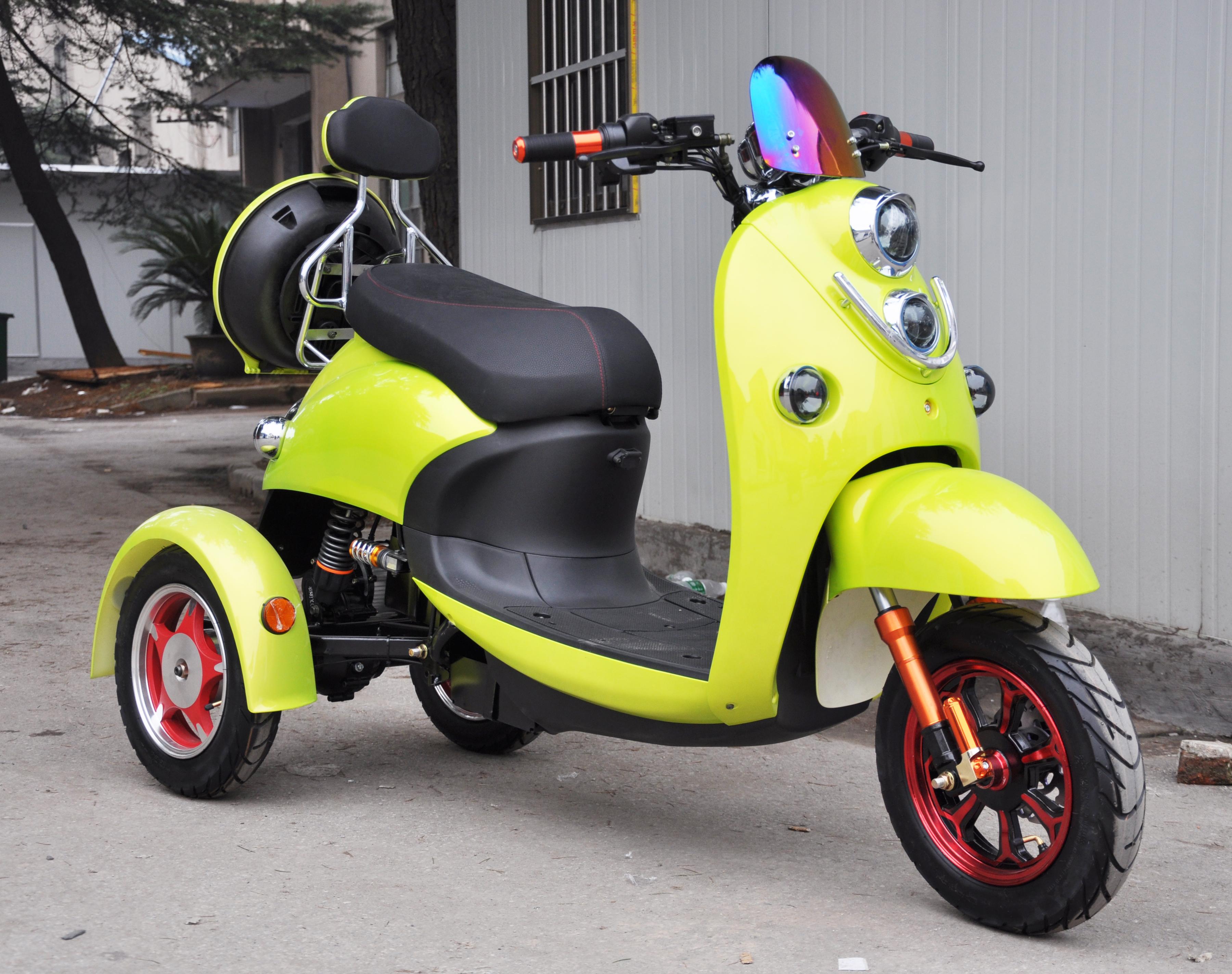 Tricicleta electrica Ztech ZT-63 Trilux 3.0